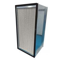 Wholesale Galvanized Steel Frame HEPA Air Filter 1000m³/h Air Volume With Aluminum Foil Separater from china suppliers