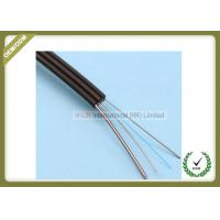 Buy cheap Outdoor Fiber Optic Drop Cable 1 Core Steel Wire PVC / LSZH Jacket Flexible from wholesalers
