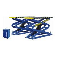 Wholesale Hydraulic AutomotiveLift 6600Lb Heavy Duty Double Scissor Lift Flush Mount from china suppliers