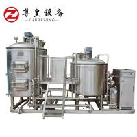China 1000l Home Beer Brewing Equipment , PLC / DCS Micro Brewery Equipment on sale