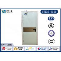 Quality Custom Made White Insulated Fire Door Strongly Temperature Resistance for sale