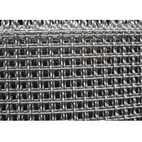 China FDA 304 Stainless Steel Wire Mesh , Gi Crimped Wire Mesh For BBQ Drying on sale
