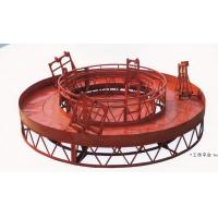 Wholesale Red Rounded Lifting Powered High Working Rope Suspended Platform for Building Maintenance from china suppliers