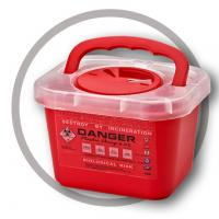 Buy cheap 3 Litre Sharps disposal container, Sharps Container, Red sharps containers - WinnerCare from wholesalers