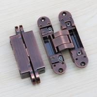 Buy cheap 3d removeble hinges concealed 180 Degree 3D Adjustable Invisible Door Hinges from wholesalers