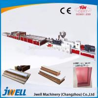 Wholesale High quality useful WPC/PVC door panel extrusion line / plastic extrusion from china suppliers