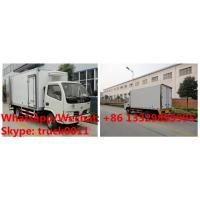 Wholesale Factory sale good price 7.4m length 190hp diesel 10MT refrigerated truck, frozen van truck, cold room truck for sale from china suppliers
