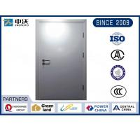 Wholesale Metro Silver Steel Insulated Fire Door With Solid Structure Wear Resistance from china suppliers