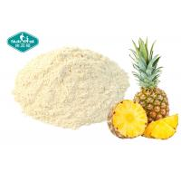 Wholesale Healthy Pineapple Fruit Powder / Freeze Dried Fruit Powder Drink For Anti - Aging from china suppliers