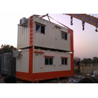 Buy cheap Movable Container House Temporary Camp Two Layer Worker Dormitry WIth Airconditi from wholesalers