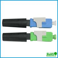 Buy cheap UPC Fiber Optic Patch Cable Connector , Ceramic Optical Cable Connector from wholesalers