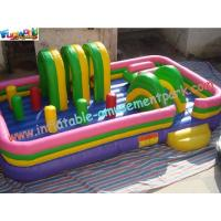 Wholesale Indoor And Outdoor Commercial Funcity Game Toys Inflatable Amusement Park for Kids Playing from china suppliers