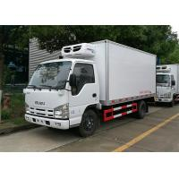 Wholesale ISUZU 100P Freezer Box Truck , 2 Ton Commercial Refrigerated Trucks -20 Celsus Degree from china suppliers