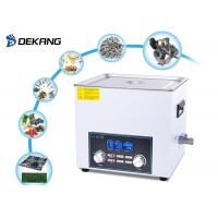 Wholesale 6.5L Heated Bench Top Ultrasonic Cleaner Timing For Dental Instruments from china suppliers