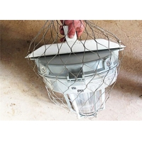 Wholesale Stainless Steel Dropped Objects Prevention 7x7 Safety Net Fall Protection from china suppliers