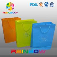 China Promotion Cutom Color Printing Customized Paper Bags / Gift Bag grease proof paper bag on sale