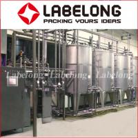 Wholesale Labelong Juice Bottling Machine 304 Stainless Steel 3 In 1 PLC Control from china suppliers