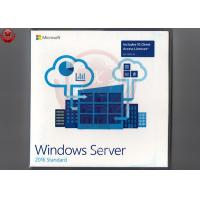 Wholesale 64 Bit Full Version Windows Server 2016 OEM DVD COA Sticker Windows Server 2016 Os from china suppliers