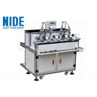 Buy cheap Double Station Armature Electrical Motor Winding Machine / Small Rotor Winder from wholesalers