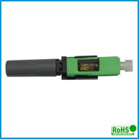 Buy cheap Durable Multimode Fiber Connectors / Green Fiber Patch Cable Connector from wholesalers
