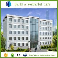 China gable frame steel building and high rise steel frame apartment building on sale