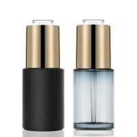 Wholesale 30ml Rotary drip Glass Dropper Bottles Essence Oil Perfume Pump Bottle from china suppliers