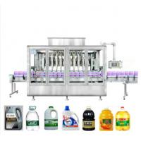 Wholesale Full Automatic Edible Oil Filling Machine 3 In 1 Silver Grey With Touch Screen from china suppliers