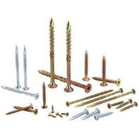 Wholesale Heat Treatment Yellow White Zinc Chipboard Screws Partical Board Wood Screws For MDF from china suppliers