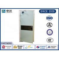 Wholesale Hospital Fire Rated Steel Door / Single Open 90 Minute Fire Rated Doors from china suppliers