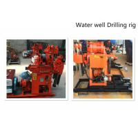 Wholesale Hydraulic Water Well Drilling Rig 180m Depth Drilling For Geotechnical Investigation from china suppliers