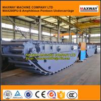 Quality MAXWAY Amphibious Excavator Undercarriage for XCMG, Lonking, SUMITOMO , Model: MAX200PU-S for sale