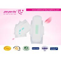 Buy cheap Cloth Negative Ion Sanitary Napkin / White Cotton Anion Sanitary Pad from wholesalers
