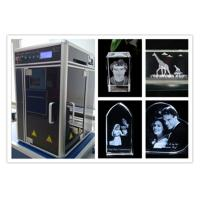 Wholesale Diode Pumped 3D Laser Glass Engraving Machine , Computerized 3D Laser Carving Machine from china suppliers