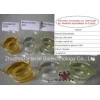 Wholesale 99% Purity Steroid Solvent Oil Benzyl Alcohol CAS 100-51-6 Steroid Chemical Addictives from china suppliers