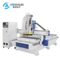 Buy cheap 220V 380V CNC Wood Carving Machine / 2 Axis Cnc Router Drilling Machine 0.6-0 from wholesalers
