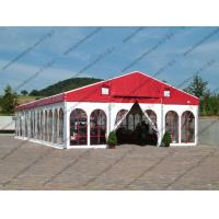 Wholesale Colorful Waterproof Alumunium PVC Tent with Church Windows or Plain White Sidewalls for Ceremony / Party / Conference from china suppliers