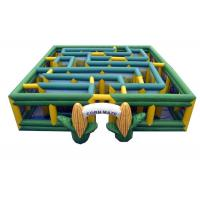 Buy cheap Brand New 0.55mm PVC Giant Inflatable Maze / 30'x30' Comes with Inflation Blower from wholesalers