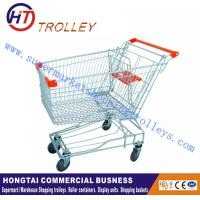 Wholesale Supermarket Trolley Wire Shopping Trolley Shopping Cart With Wheels from china suppliers