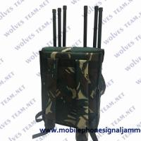 Buy cheap 200 Meters 8 Bands Military High Power GPS WIFI Cell Phone Signal Backpack from wholesalers