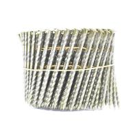 Wholesale 16 Degree Pallet Coil Nails Wood Screw Shank Bright Pallet Wire Coil Nails 2.8x50mm from china suppliers