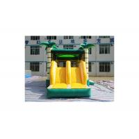 Buy cheap Hawaii Monkey Inflatable Coconut Tree Jungle Bouncer With Slide from wholesalers