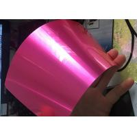Wholesale Antibacterial Translucent Candy Powder Coat , Metal Surface Candy Pink Powder Coat from china suppliers