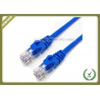 Buy cheap RJ45 Cat6 U/UTP Patch Network Fiber Cable 1.8M 23AWG 0.56mm Copper Pass Test from wholesalers