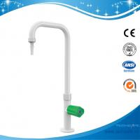 Wholesale SHA52-gooseneck faucet deck mo brass white Single Way Lab Tap lab Faucet 360 swing 304Stainless Steel,white / grey color from china suppliers