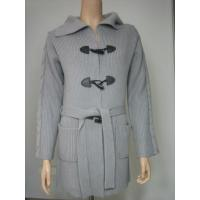 Wholesale Women Cashmere Sweater Light Grey Cashmere Jacket from china suppliers