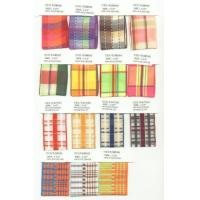 Buy cheap Plaid Ribbon W2288 & W3388 & W4107 & W2285 from wholesalers