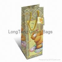 Buy cheap wine paper bag LT-419 from wholesalers