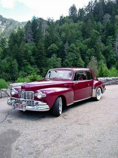 Quality 1948 Lincoln Continental 2 Door Coupe for sale