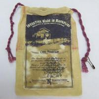 Wholesale Canvas pouch with coffee stain from china suppliers