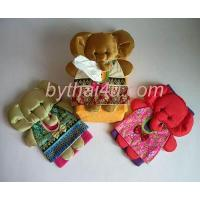 Wholesale SILK n COTTON HOME ACCESSORIES ELEPHANT TISSUE KEEPER 2 from china suppliers
